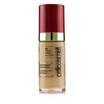 Cellcosmet CellTeint Plumping Cellular Tinted Skincare - #03 Warm Beige (30ml/1.1oz)