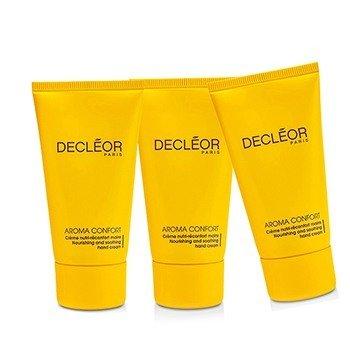 Decleor Aroma Confort Питательный Крем для Рук Тройная Упаковка 3x50ml/1.7oz