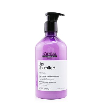 Professionnel Serie Expert - Liss Unlimited Prokeratin Intense Smoothing Shampoo (500ml/16.9oz)