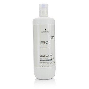 Schwarzkopf BC Excellium Q10+ Pearl Совершенствующий Шампунь (для Седых и Белых Волос) 1000ml/33.8oz
