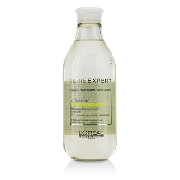 LOreal Professionnel Serie Expert - Pure Resource Citramine Oil Контролирующий Очищающий Шампунь 300ml/10.1oz
