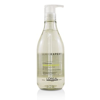 Professionnel Serie Expert - Pure Resource Citramine Oil Controlling Purifying Shampoo (500ml/16.9oz)