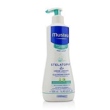 Mustela Stelatopia Очищающий Крем - для Атопичной Кожи 500ml/16.9oz