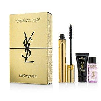 Mascara Volume Effet Faux Cils Luxurious Kit : (1x Mascara, 1x Instant Moisture Glow, 1x Makeup Remover) (3pcs)