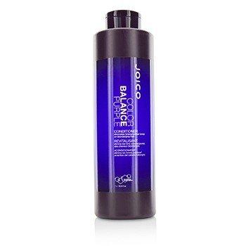 Color Balance Purple Conditioner (Eliminates Brassy/Yellow Tones on Blonde/Gray Hair) (1000ml/33.8oz)