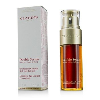 Double Serum (Hydric + Lipidic System) Complete Age Control Concentrate (Box Slightly Damaged) (50ml/1.6oz)