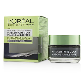 Skin Expert Pure Clay Mask - Detoxifies & Clarifies (50ml/1.7oz)