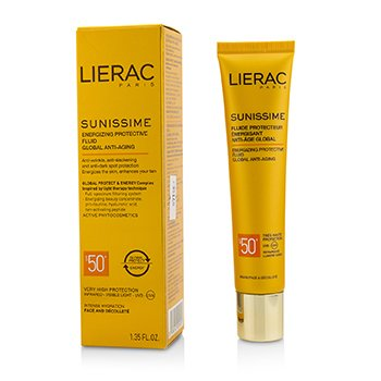 Sunissime Global Anti-Aging Energizing Protective Fluid SPF50+ For Face & Decollete (40ml/1.35oz)
