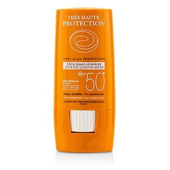 Very High Protection Stick For Sensitive Areas SPF 50+ (For Sensitive Skin) (8g/0.27oz)