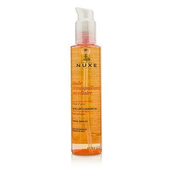 Huile Demaquillante Micellaire Micellar Cleansing Oil With Rose Petal For Face & Eyes (Sensitive Skin) (150ml/5oz)