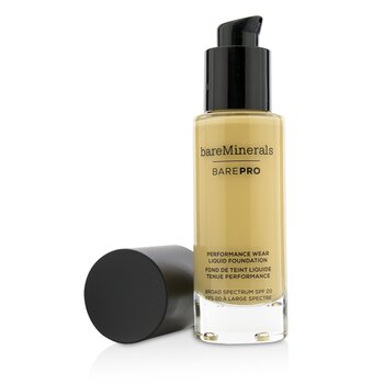BarePro Performance Wear Liquid Foundation SPF20 - # 08 Golden Ivory (30ml/1oz)