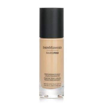 BarePro Performance Wear Liquid Foundation SPF20 - # 13 Golden Nude (30ml/1oz)