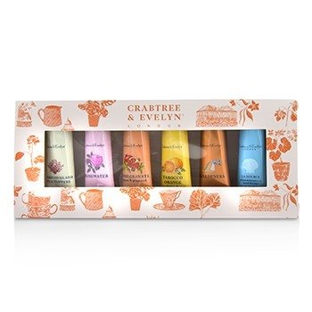 Crabtree  Evelyn Bestsellers Hand Therapy Набор для Рук из 6 Предметов 6x25g/0.9oz