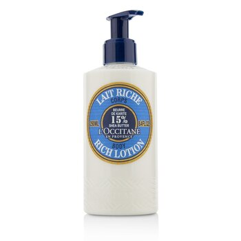 Shea Butter Rich Body Lotion (250ml/8.4oz)