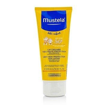Very High Protection Sun Lotion SPF50+ - Sun Sensitive & Intolerant Skin (200ml/6.76oz)
