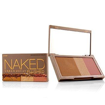 Naked Flushed - Strip (1x Blush, 1x Bronzer, 1x Highlighter) (14g/0.49oz)
