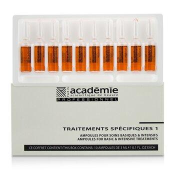 Specific Treatments 1 Ampoules Rougeurs Diffuses - Salon Product (10x3ml/0.1oz)
