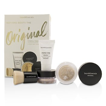 Get Started Mineral Foundation Kit - # 07 Golden Ivory (4pcs)