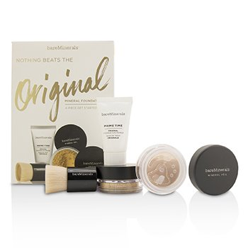 Get Started Mineral Foundation Kit - # 13 Golden Beige (4pcs)