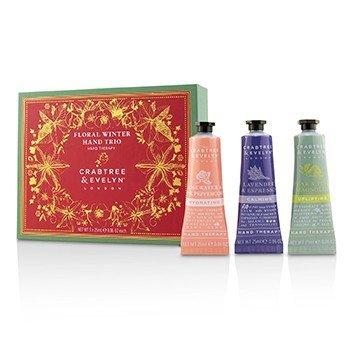 Floral Winter Hand Trio (1x Lavender & Espresso, 1x Rosewater & Pink Peppercorn, 1x Pear & Pink Magnolia) (3x25ml/0.86oz)