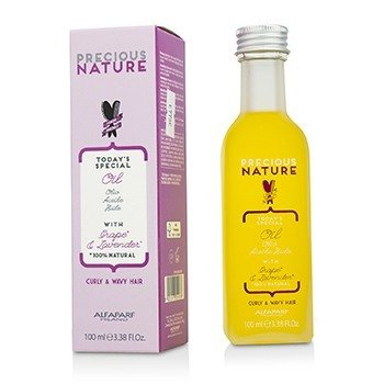 Precious Nature Today's Special Oil with Grape & Lavender (For Curly & Wavy Hair) (100ml/3.38oz)