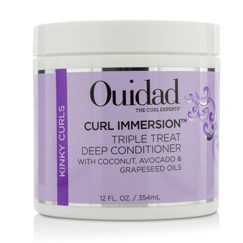 Curl Immersion Triple Treat Deep Conditioner (Kinky Curls) (354ml/12oz)