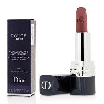 Rouge Dior Couture Colour Comfort & Wear Matte Lipstick - # 745 Terrific Matte (3.5g/0.12oz)