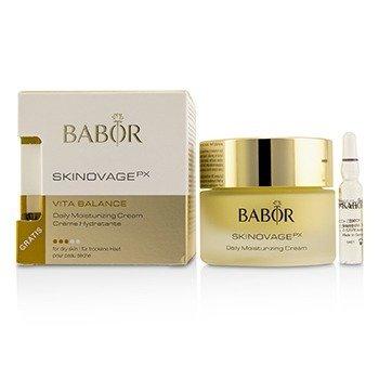Skinovage PX Vita Balance Daily Moisturizing Cream (with Free Collagen Booster Fluid 2ml) - For Dry Skin (50ml/1.7oz)