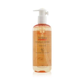TriXera Nutrition Nutri-Fluid Face & Body Cleanser - For Dry to Very Dry Sensitive Skin (400ml/13.5oz)
