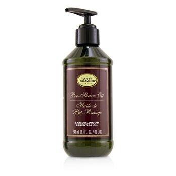Pre-Shave Oil - Sandalwood Essential Oil (With Pump) (240ml/8.1oz)