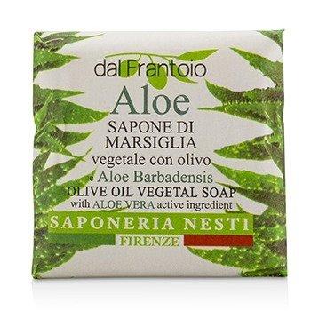 Dal Frantoio Olive Oil Vegetal Soap - Aloe Vera (100g/3.5oz)