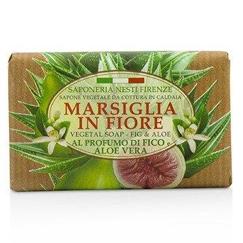 Marsiglia In Fiore Vegetal Soap - Fig & Aloe Vera (125g/4.3oz)