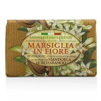 Marsiglia In Fiore Vegetal Soap - Almond & Orange Bloosom (125g/4.3oz)