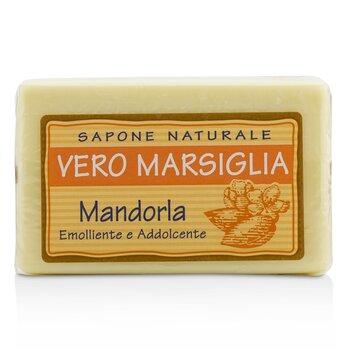 Vero Marsiglia Natural Soap - Almond (Emollient & Softening) (150g/5.29oz)