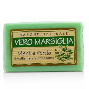 Vero Marsiglia Natural Soap - Spearmint (Emollient & Refreshing) (150g/5.29oz)