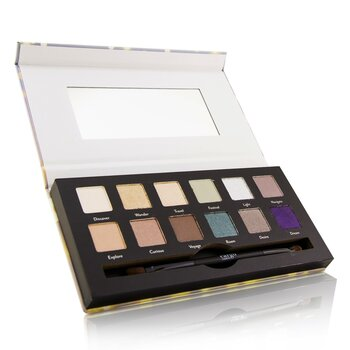 Wanderlust Eye Shadow Palette (12x Eye Shadow, 1x Shadow Brush) (12x0.8g/0.03oz)