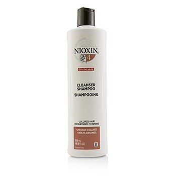 Derma Purifying System 4 Cleanser Shampoo (Colored Hair, Progressed Thinning, Color Safe) (500ml/16.9oz)