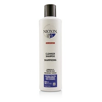 Derma Purifying System 6 Cleanser Shampoo (Chemically Treated Hair, Progressed Thinning, Color Safe) (300ml/10.1oz)