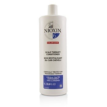 Density System 6 Scalp Therapy Conditioner (Chemically Treated Hair, Progressed Thinning, Color Safe) (1000ml/33.8oz)