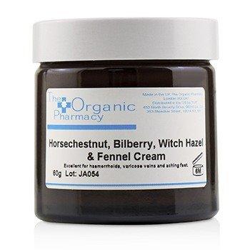 Bilberry Complex Cream - For Haemorrhoids, Varicose Veins & Aching Feet (60g/2.11oz)