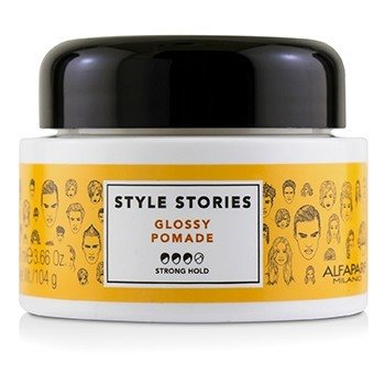 Style Stories Glossy Pomade (Strong Hold) (100ml/3.66oz)