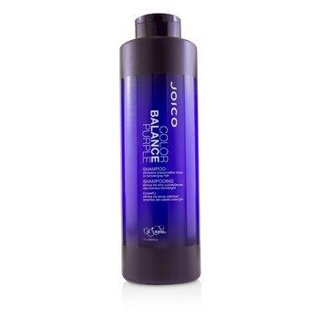 Color Balance Purple Shampoo (Eliminates Brassy/Yellow Tones on Blonde/Gray Hair) (1000ml/33.8oz)
