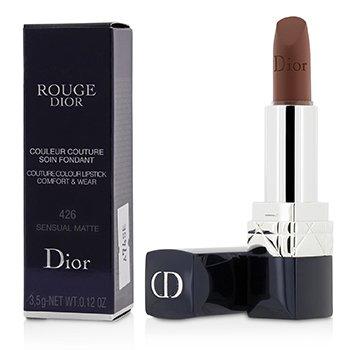 Rouge Dior Couture Colour Comfort & Wear Matte Lipstick - # 426 Sensual Matte (3.5g/0.12oz)