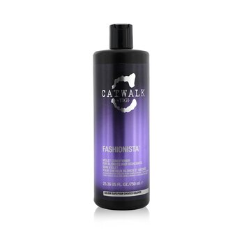 Catwalk Fashionista Violet Conditioner - For Blondes and Highlights (Cap) (750ml/25.36oz)