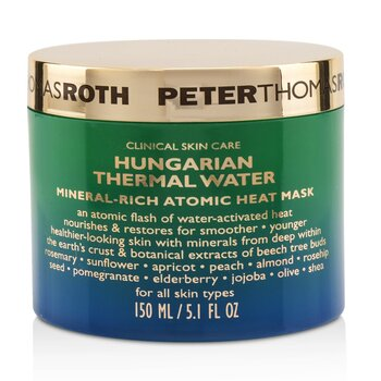 Peter Thomas Roth 彼得羅夫 Hungarian Thermal Water Mineral-Rich Atomic Heat Mask 150ml/5oz - 面膜