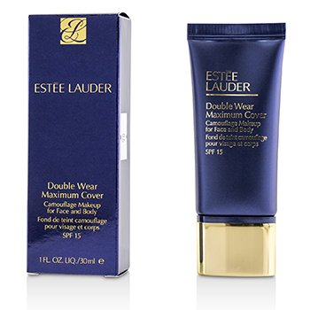 Double Wear Maximum Cover Camouflage Make Up (Face & Body) SPF15 - #3W2 Cashew (30ml/1oz)