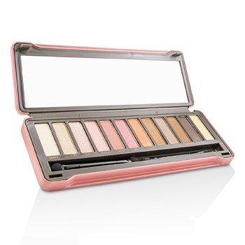 BYS 眼影盤Eyeshadow Palette (12色眼影 + 刷具x2) - Peach 12g/0.42oz - 組合
