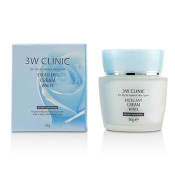 Excellent White Cream (Intensive Whitening) - For Dry to Normal Skin Types (50g/1.7oz)