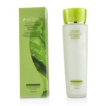 Aloe Full Water Activating Emulsion - For Dry to Normal Skin Types (150ml/5oz)