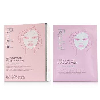 Pink Diamond Lifting Face Mask (8x20g/0.7oz)
